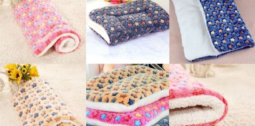 From £4.99 for a soft pet blanket - choose from three colours from Blufish - save up to 83% from Wowcher