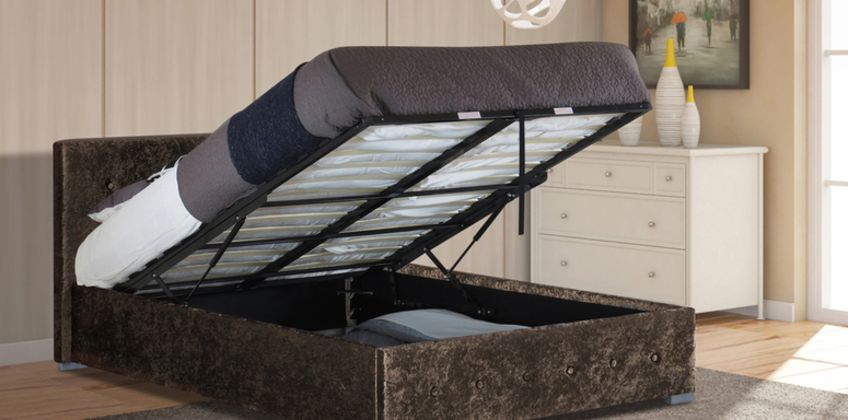 From £130 (from UK Furniture4U) for a crushed velvet Nicola Ottoman bed frame or £220 for a crushed velvet Nicola Ottoman bed with mattress and size options from Wowcher