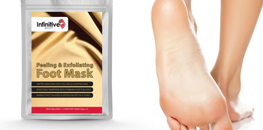From £1.09 instead of £13 (from Forever Cosmetics) for a pair of exfoliating foot masks - save up to 92% from Wowcher