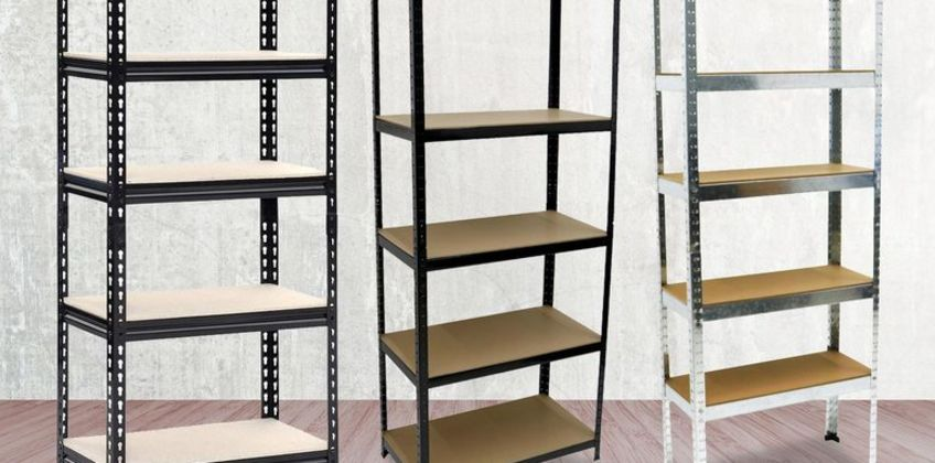 From £16 instead of £66.63 (from Who Needs Shops) for a heavy-duty 500kg shelving rack - choose from three sizes and save up to 75% from Wowcher