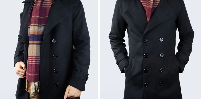 £22 instead of £74.99 (from Blu Apparel) for a men's Frederick duffle coat – save 70% from Wowcher