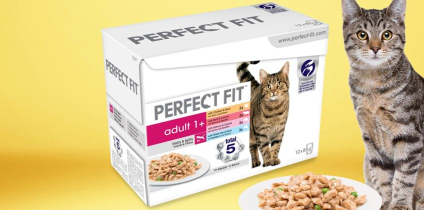 £36.99 (from Trojan) for 96 pouches of Perfect Fit Adult 1+ cat food or £69.99 for 192 pouches! from Wowcher