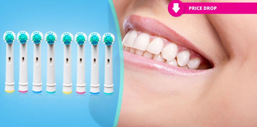 £13.99 instead of £79.92 for 32 Oral B-compatible toothbrush heads from Forever Cosmetics - save up to 81% from Wowcher