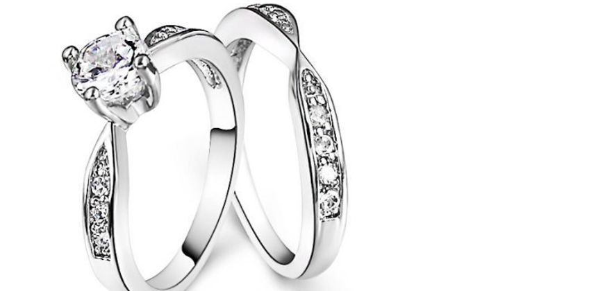 £12.99 instead of £69.99 for two rings made with crystals from Swarovski from swarovski from GameChanger Associates - save 81% from Wowcher