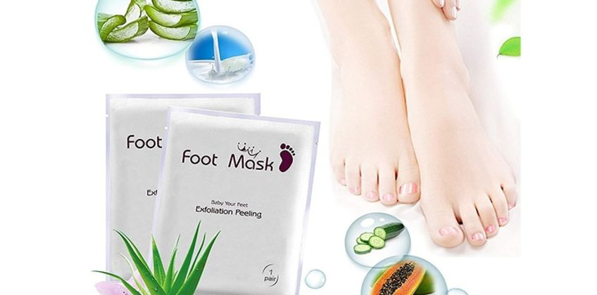 £1 instead of £19.99 for one pair of exfoliating & peeling foot masks from Impress Gadgets - save 95% from Wowcher