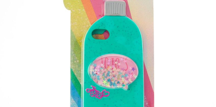 Go to Product: JoJo's Juice Mint Green Glitter Phone Case - Fits iPhone 6/7/8/SE from Claires
