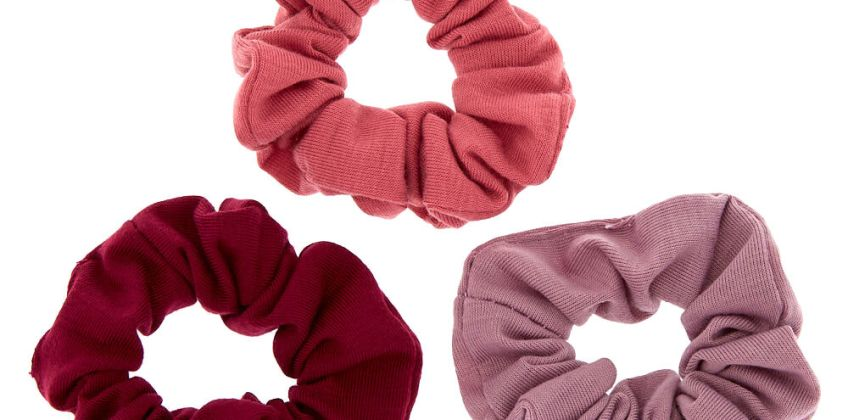 Go to Product: Small Very Berry Hair Scrunchies - 3 Pack from Claires