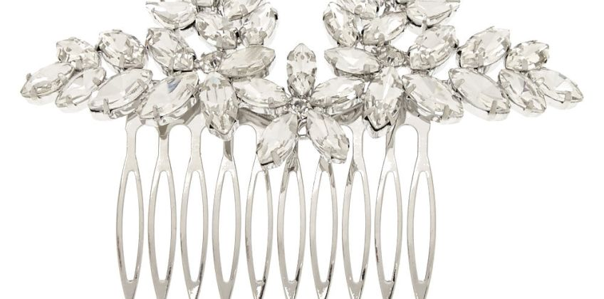 Go to Product: Vintage Glass Stone Leaf Hair Comb from Claires