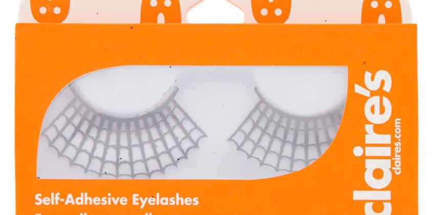 Go to Product: Spiderweb Glitter Eyelashes - Black from Claires