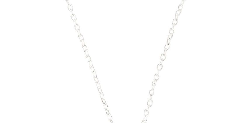 Go to Product: Silver Embellished Initial Pendant Necklace - U from Claires