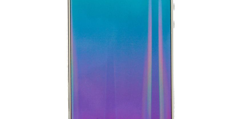 Go to Product: Holographic Ombre Square Phone Case - Fits iPhone 5/5S from Claires