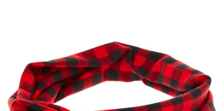 Go to Product: Buffalo Check Twisted Headwrap - Red from Claires
