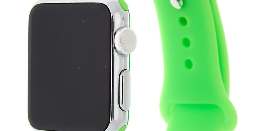 Go to Product: Neon Green Smart Watch Band - Fits 38MM/40MM Apple Watch from Claires