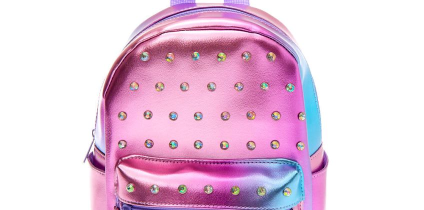 Go to Product: Embellished Ombre Mini Backpack - Purple from Claires