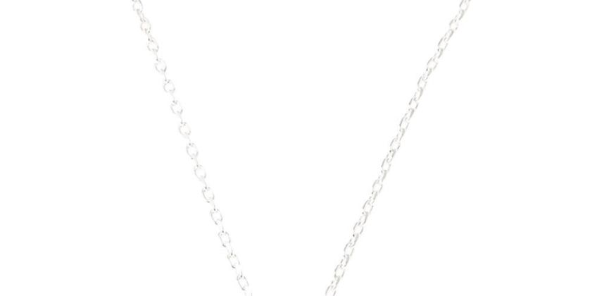 Go to Product: Silver Embellished Initial Pendant Necklace - X from Claires