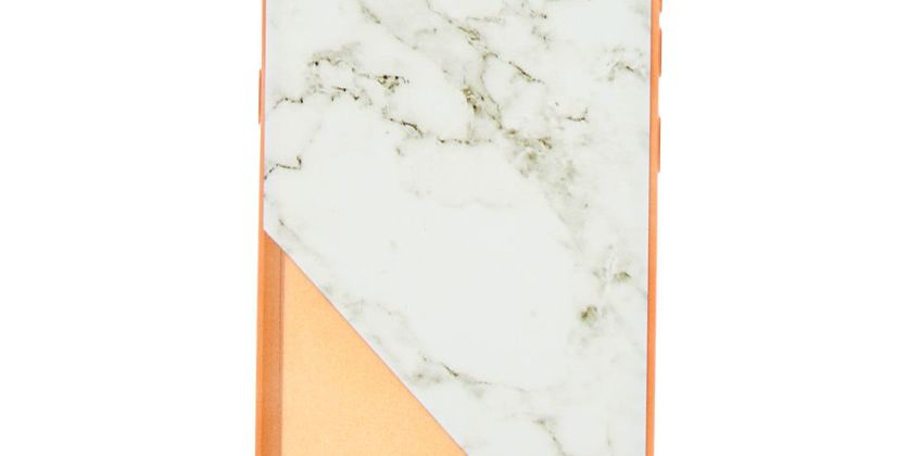 Go to Product: Rose Gold Marble Phone Case - Fits Samsung Galaxy Note 8 from Claires