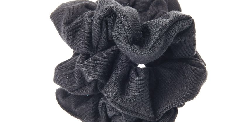 Go to Product: Small Solid Hair Scrunchies - Black, 3 Pack from Claires