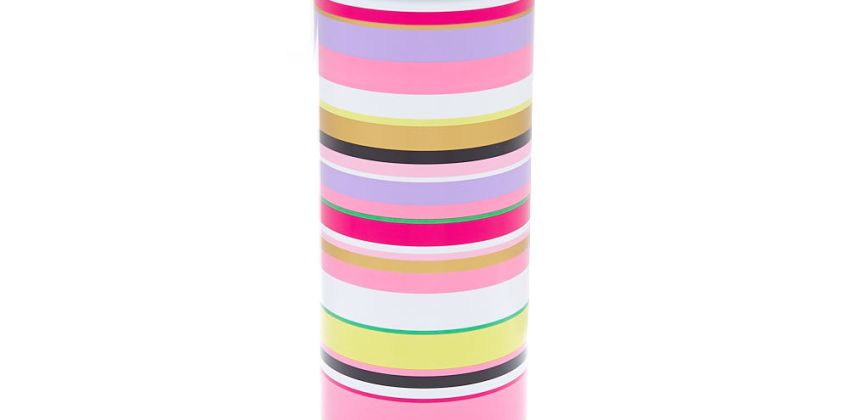 Go to Product: Rainbow Striped Aluminum Water Bottle from Claires