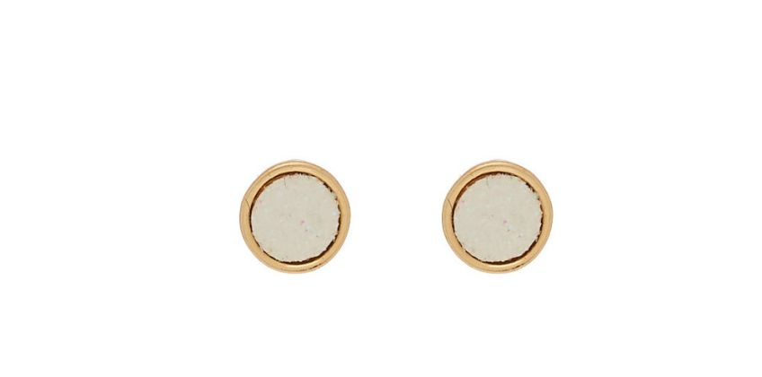 Go to Product: Rose Gold Button Stud Earrings - 3 Pack from Claires