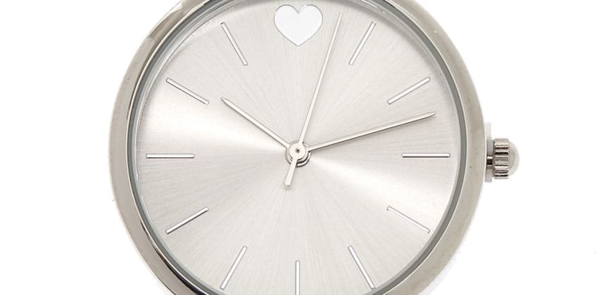 Go to Product: Silver Glitter Classic Watch from Claires