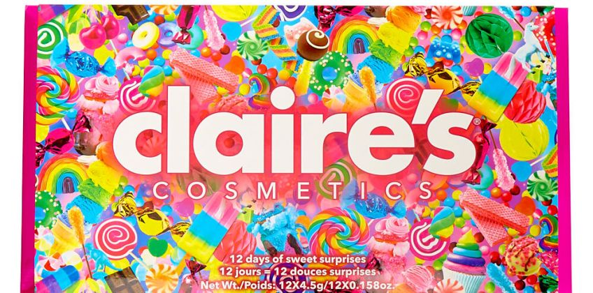 Go to Product: Mega Candy Bar 12 Days Of Surprise Cosmetics from Claires