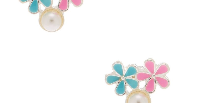Go to Product: Spring Pearl Stud Earrings from Claires