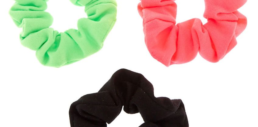 Go to Product: Small Neon Watermelon Hair Scrunchies - 3 Pack from Claires
