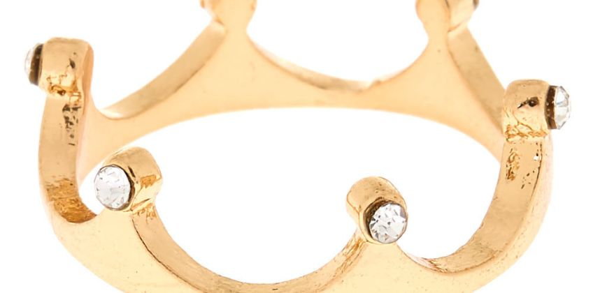 Go to Product: Gold Crown Ring from Claires
