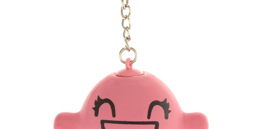 Go to Product: Smiley Stress Ball Keychain from Claires