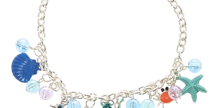 Go to Product: Silver Under The Sea Charm Bracelet - Blue from Claires
