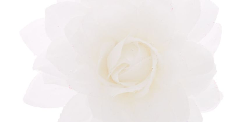Go to Product: Lotus Hair Flower Barrette - White from Claires