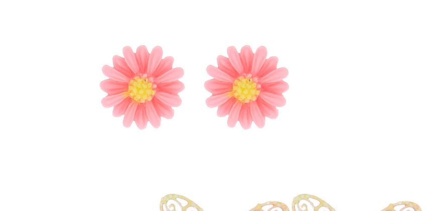 Go to Product: Ombre Butterfly Stud Earrings - 3 Pack from Claires