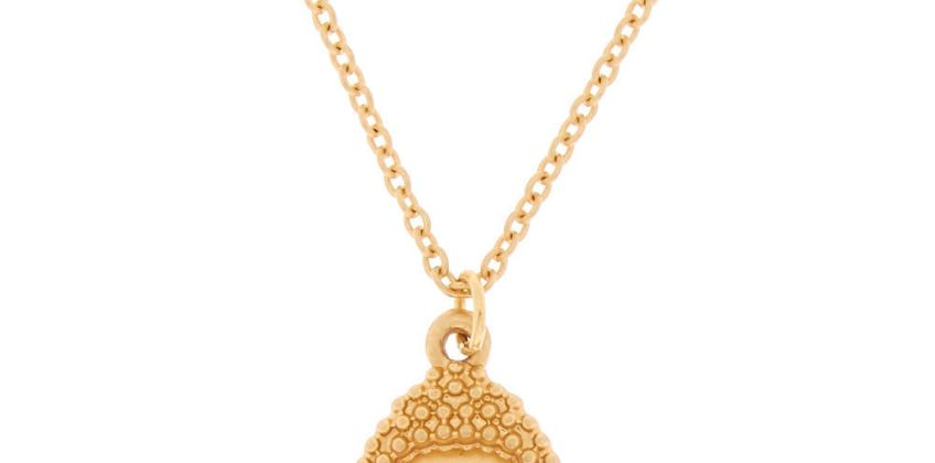 Go to Product: Brushed Gold Buddha Pendant Necklace from Claires