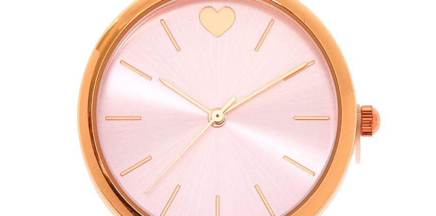 Go to Product: Rose Gold Glitter Classic Watch from Claires