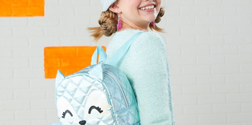 Go to Product: Trixie the Fox Small Backpack - Mint from Claires