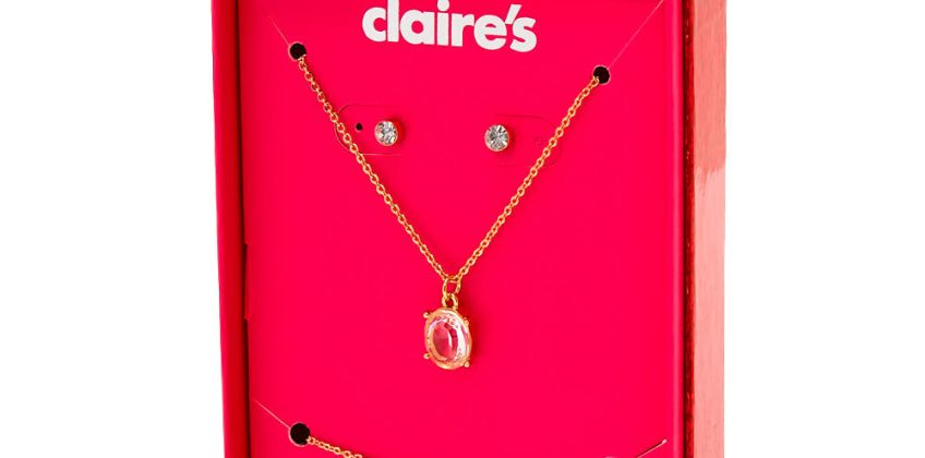 Go to Product: April Birthstone Jewellery Gift Set - Diamond, 3 Pack from Claires
