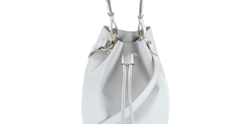 Go to Product: Bucket Crossbody Bag - Silver from Claires