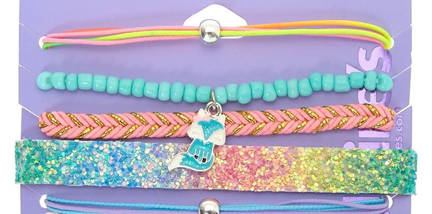 Go to Product: Trixie the Fox Bracelets - 5 Pack from Claires
