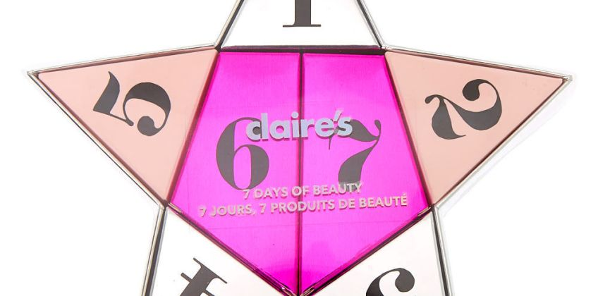 Go to Product: 7 Days of Beauty Advent Star Gift Set from Claires