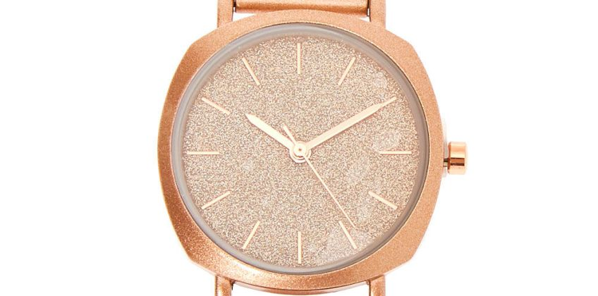 Go to Product: Rose Gold Mesh Classic Watch from Claires