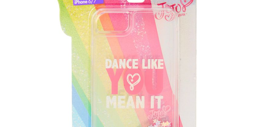 Go to Product: JoJo Siwa™ Dance Like You Mean It Glitter Phone Case - Fits iPhone 6/7/8 from Claires