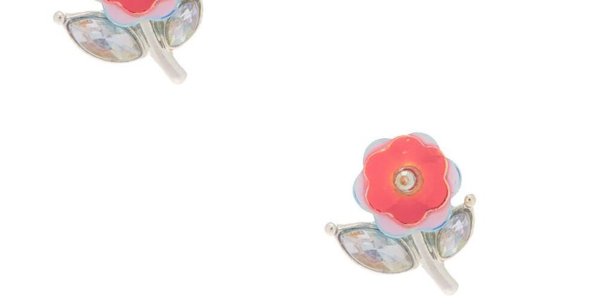 Go to Product: Silver Sequin Bloom Stud Earrings from Claires
