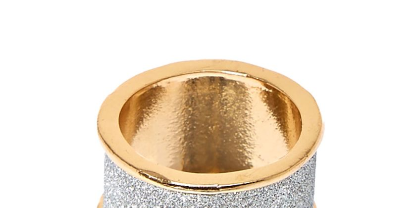 Go to Product: Silver Glitter Tape Band Ring from Claires