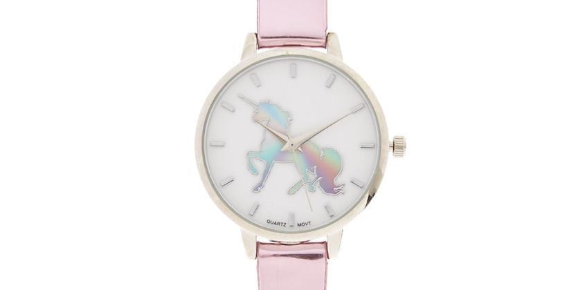 Go to Product: Metallic Unicorn Watch - Pink from Claires