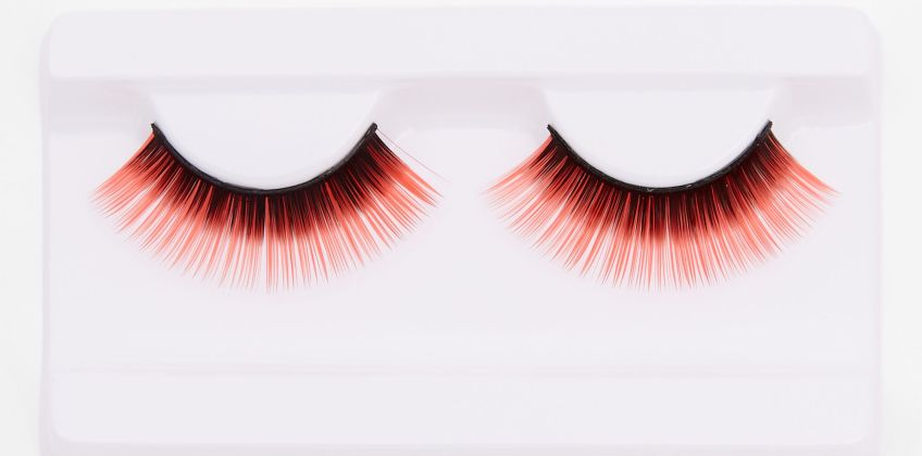 Go to Product: Red & Black False Lashes from Claires