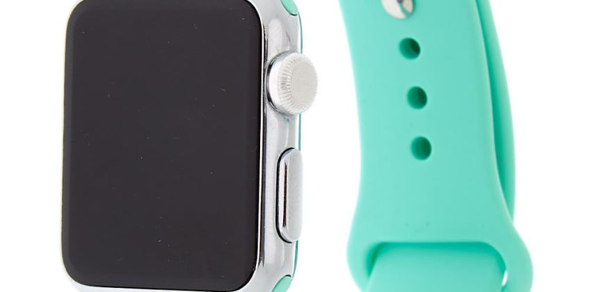 Go to Product: Mint Smart Watch Band - Fits 38MM/40MM Apple Watch from Claires