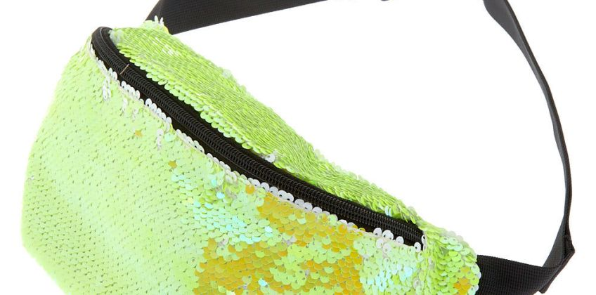 Go to Product: Reversible Sequin Bum Bag - Yellow from Claires