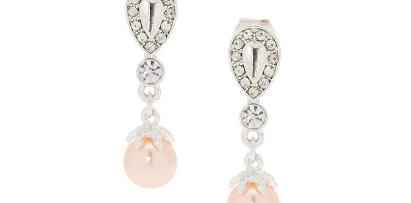 Go to Product: Pearl Clip On Drop Earrings from Claires