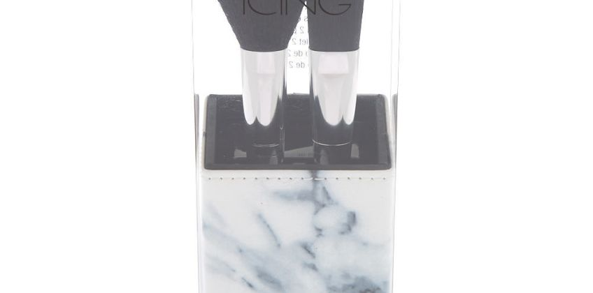 Go to Product: Marble Makeup Brush Set - Black, 2 Pack from Claires