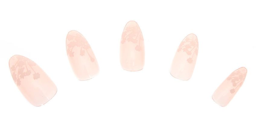 Go to Product: Cherry Blossom Stiletto Faux Nail Set - 24 Pack from Claires